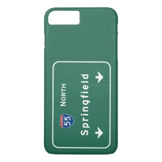 Springfield Illinois Interstate Highway Freeway : iPhone 7 Plus Case