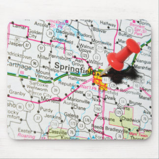 Springfield, Illinois Mouse Pad