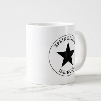 Springfield Illinois 20 Oz Large Ceramic Coffee Mug