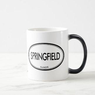 Springfield, Illinois 11 Oz Magic Heat Color-Changing Coffee Mug