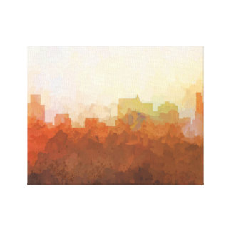SPRINGFIELD, ILLINOIS SKYLINE-In the Clouds Canvas