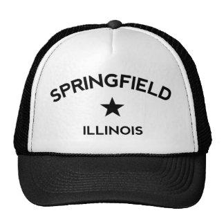 Springfield Illinois Trucker Cap
