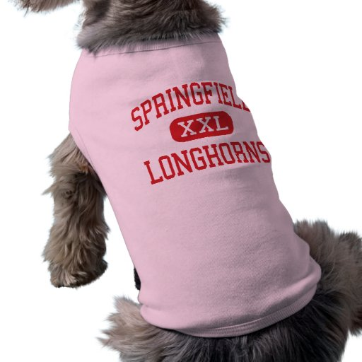 Springfield - Longhorns - High - Springfield Pet T Shirt