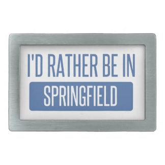 Springfield MA Belt Buckles