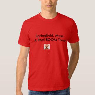 Springfield Mass Explosion Tee Shirt