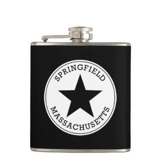 Springfield Massachusetts Hip Flask