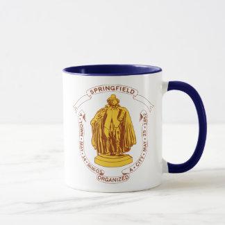 Springfield Massachusetts MA Puritan Mug