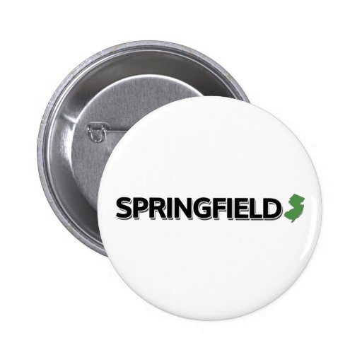 Springfield, New Jersey Pinback Buttons