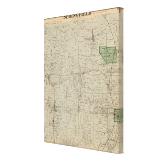 Springfield, Ohio Gallery Wrapped Canvas