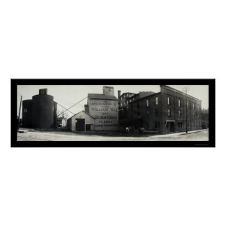 Springfield, Ohio Mills Photo 1908 Poster