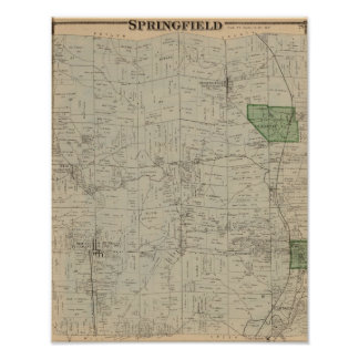 Springfield, Ohio Poster