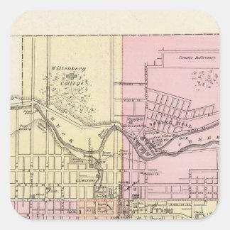 Springfield, Ohio Square Sticker
