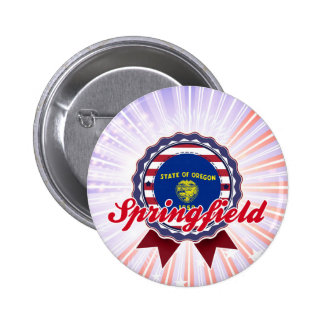 Springfield OR Pinback Button
