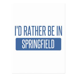 Springfield OR Postcard