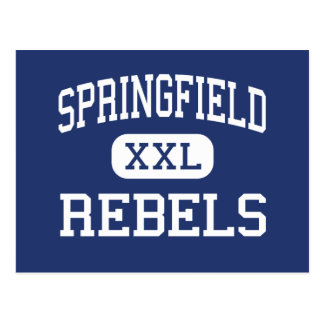 Springfield Rebels Middle Springfield Oregon Postcard