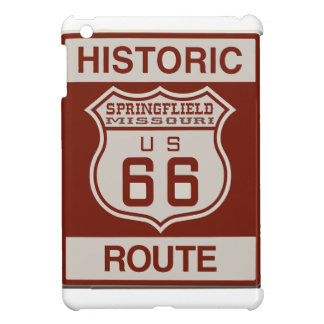 Springfield Route 66 iPad Mini Cases