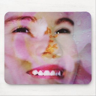 Spring's face mouse pad