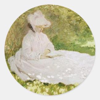 Springtime 1872 Sticker