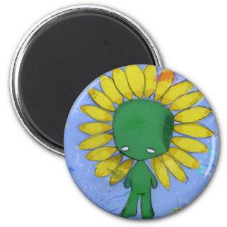 springtime 6 cm round magnet