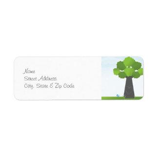 Springtime Address Label