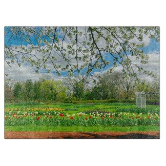 Springtime at Elizabeth Park Cutting Board