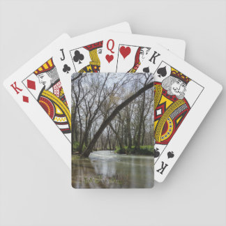 Springtime At Finley Playing Cards