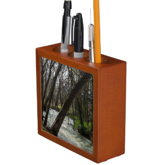 Springtime At Finley River Desk Organiser
