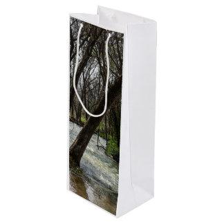 Springtime At Finley River Wine Gift Bag
