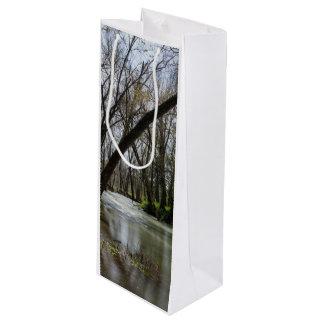 Springtime At Finley Wine Gift Bag