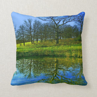 Springtime at the Pond American MoJo Pillow Cushions