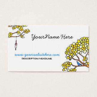 Springtime Business Card