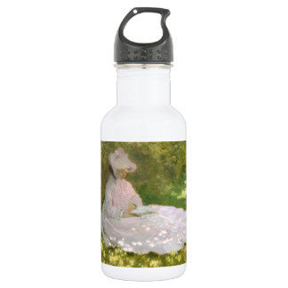 Springtime by Claude Monet 532 Ml Water Bottle