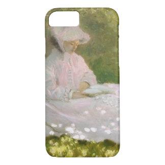 Springtime by Claude Monet iPhone 8/7 Case