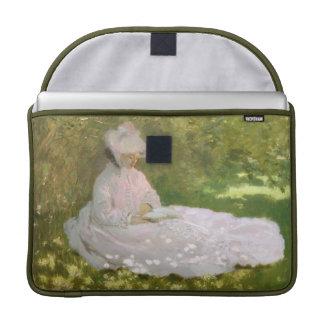Springtime by Claude Monet Sleeve For MacBooks