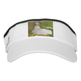 Springtime by Claude Monet Visor