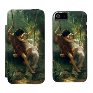 Springtime by Pierre Auguste Cot Incipio Watson™ iPhone 5 Wallet Case