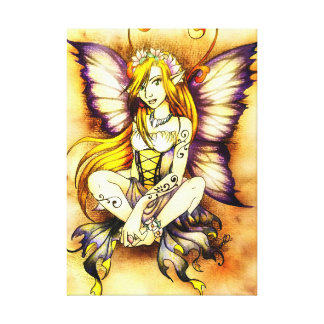 Springtime Fairy Canvas Print