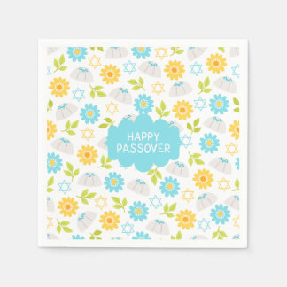 Springtime Floral  Passover Sedar Paper Serviettes