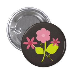 Springtime Flowers 3 Cm Round Badge