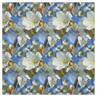 Springtime flowers fabric