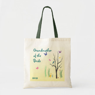 Springtime Grandmother of the Bride Tote Bag