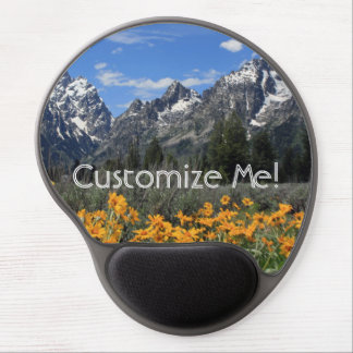 Springtime in Grand Teton National Park Gel Mouse Pad