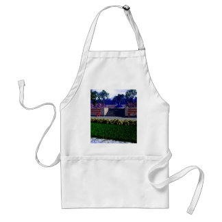 Springtime in the Park Standard Apron