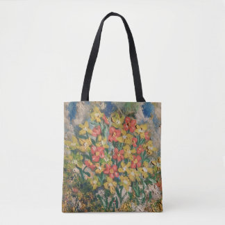 Springtime Oil Tote Bag