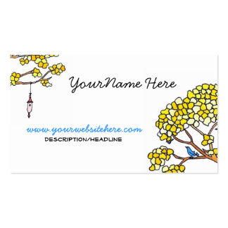 Springtime Pack Of Standard Business Cards