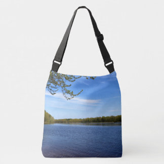Springtime Penobscot River 2016 Crossbody Bag