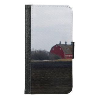 Springtime Red Barn Samsung Galaxy S6 Wallet Case