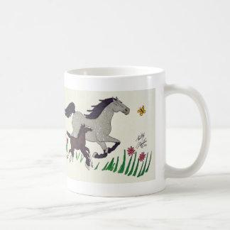 Springtime Romp Basic White Mug