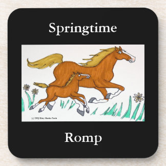 Springtime Romp Coasters