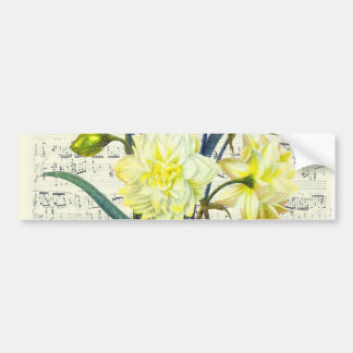 Springtime Song Bumper Sticker